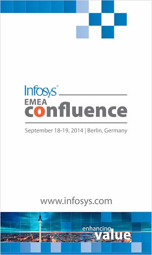 Infosys EMEA Confluence 2014