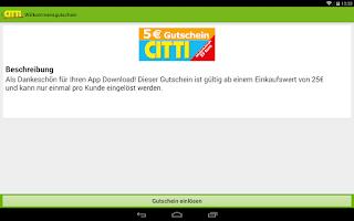 Screenshot of CITTI-Markt