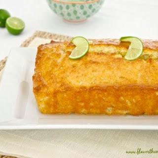 Key Lime Coconut Tea Bread