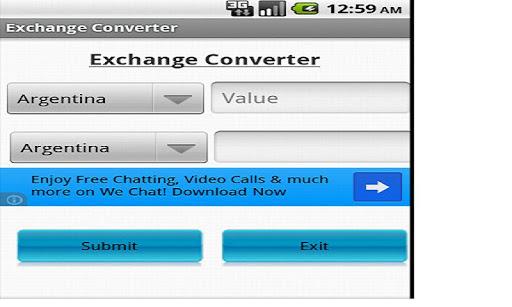 Exchange Converter