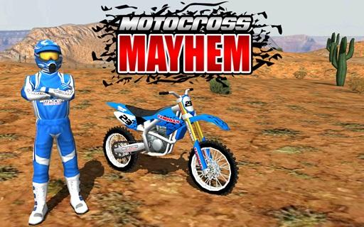 Motocross Mayhem- screenshot