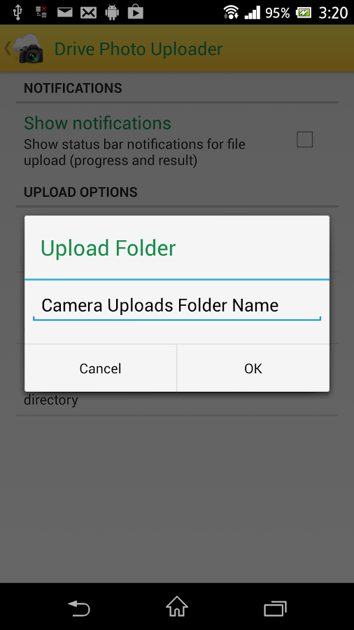 Photo Uploader for Drive- screenshot