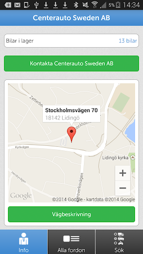 Center Auto Sweden