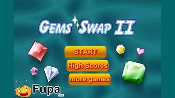 Screenshot of Gem Swap II Free
