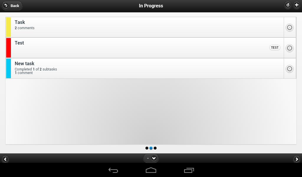 Kanban Tool - screenshot