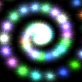 Swirling Stars Live Wallpaper