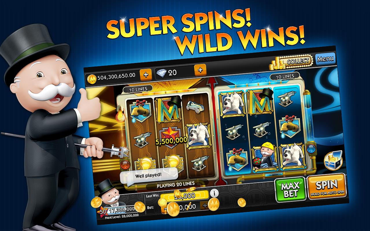 MONOPOLY Slots- screenshot