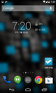 DashClock Data Usage Extension - screenshot thumbnail