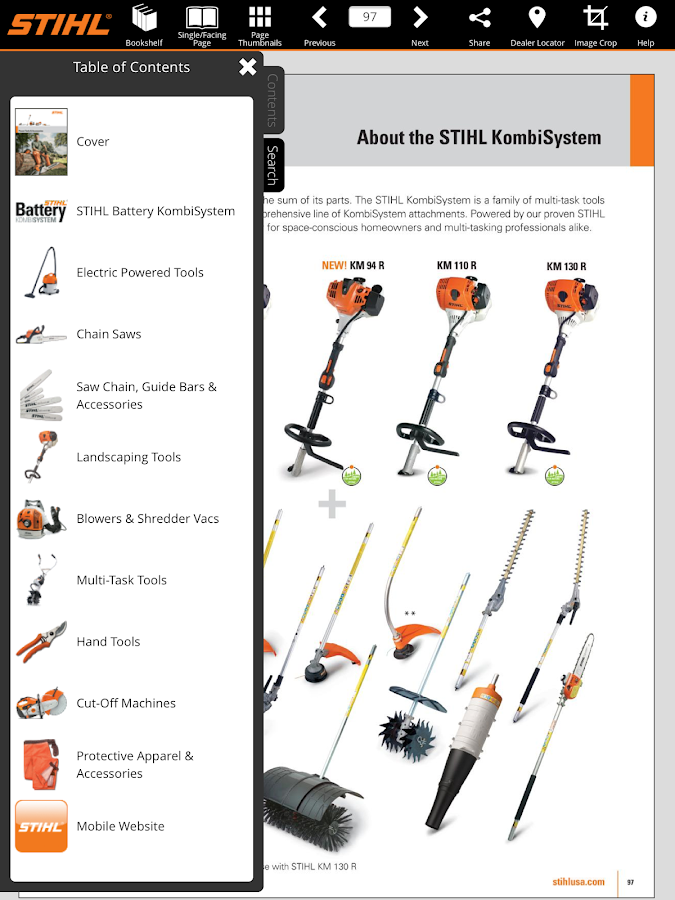 STIHL Outdoor Power Equipment - screenshot