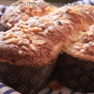 Easter Colomba Cake.