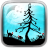 Xmas Glory Nite Live Wallpaper icon