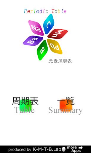 【免費教育App】週期表中的元素-APP點子