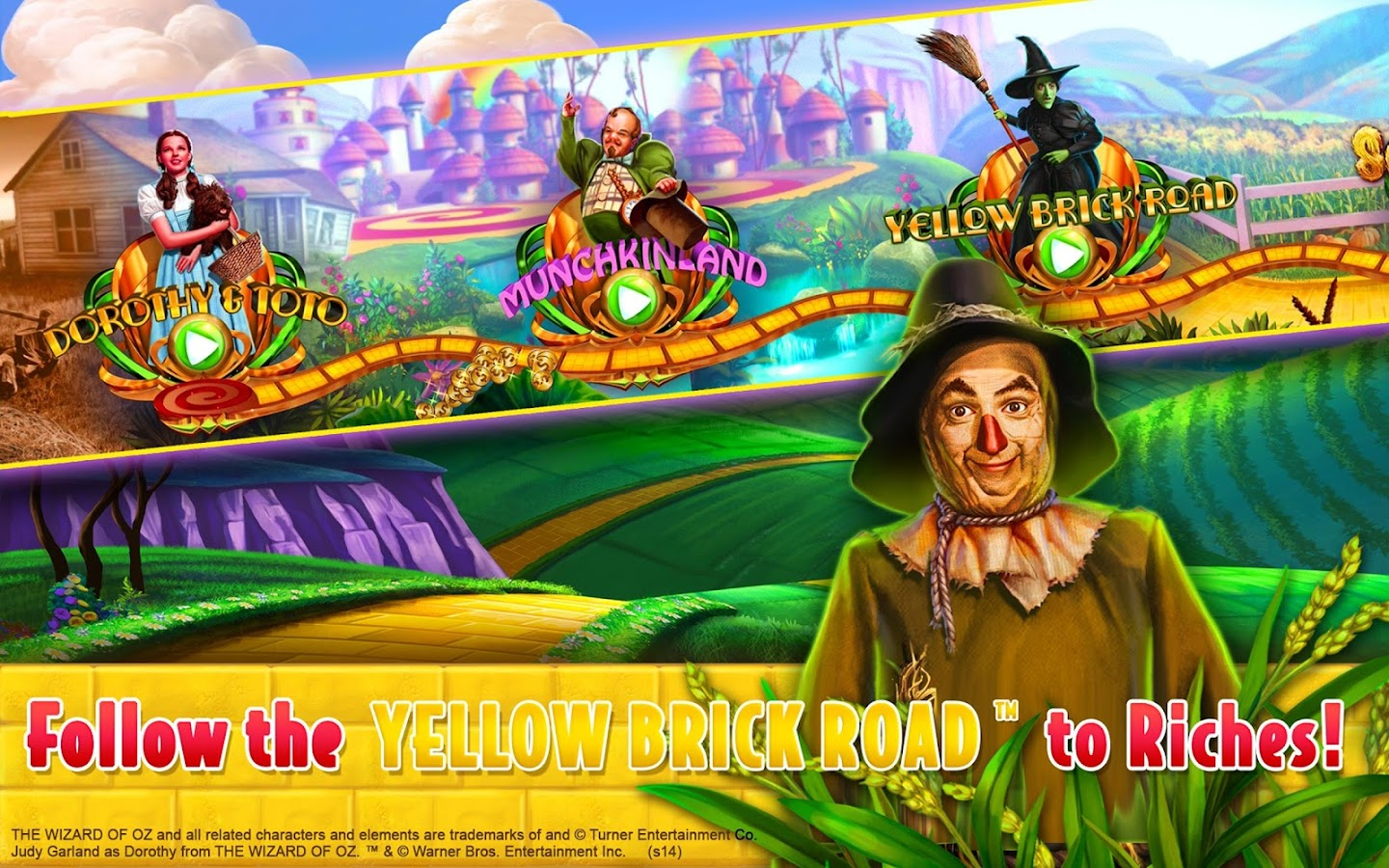 a free wizard of oz slots