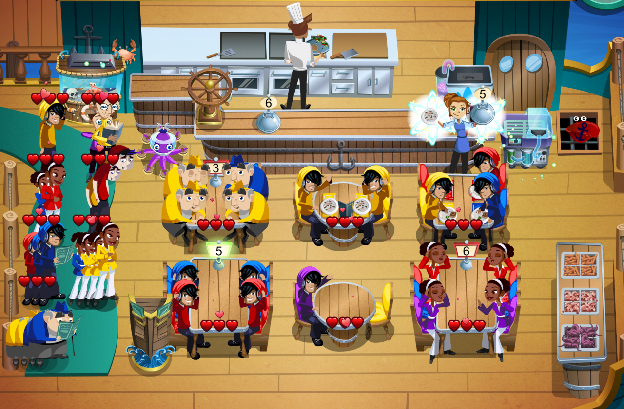 Diner Dash- screenshot