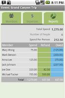 Screenshot of Expense Share + Tip Cal Pro