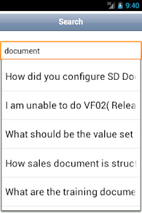 SAP SD Interview Question - Android Apps on Google Play