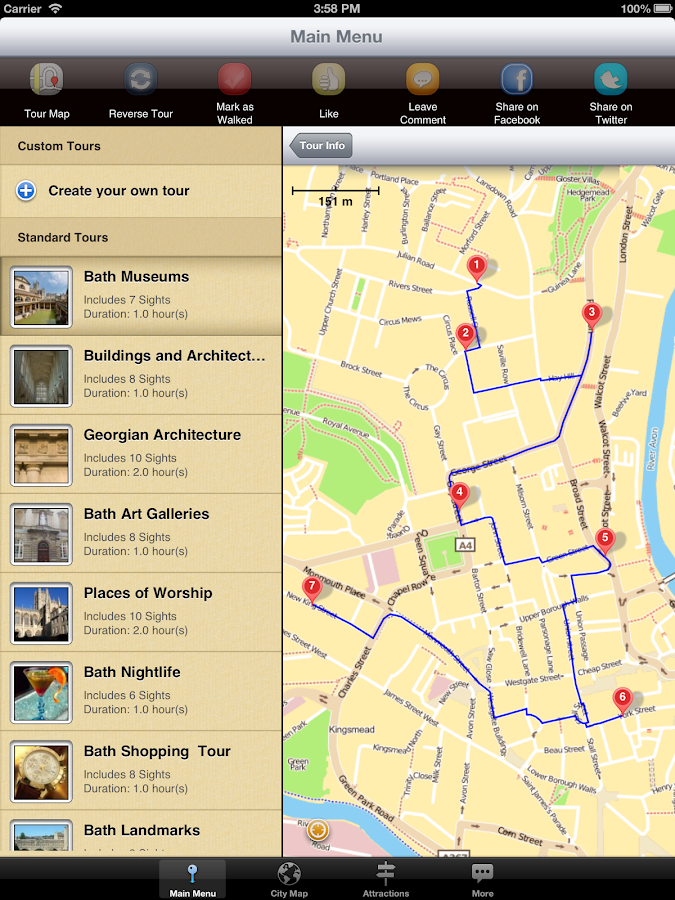 Bath Map And Walks Android Apps On Google Play