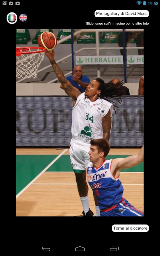 MensSana Basket 2012-2013 - screenshot