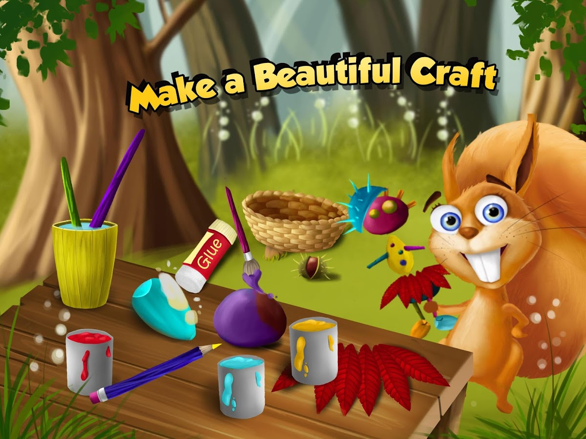 Forest Animals Arts and Crafts- screenshot