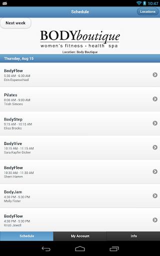 【免費健康App】Body Boutique-APP點子