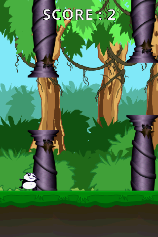 【免費休閒App】Flappy Panda-APP點子
