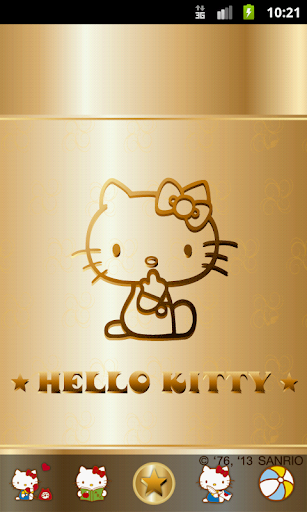 Hello Kitty Golden Love