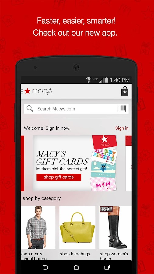 Macy's - screenshot