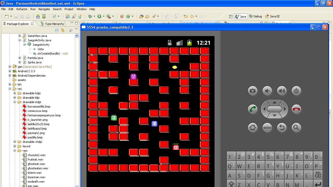 esther jordi guillem pacman - screenshot