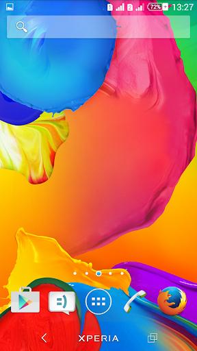 Theme eXPERIAnz Rainbow Colors