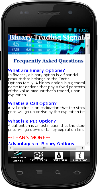 Trading signals android