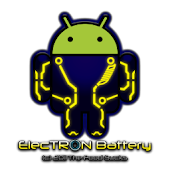 Electron Battery Widget