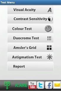 玩免費醫療APP|下載ICARE VISION TEST app不用錢|硬是要APP
