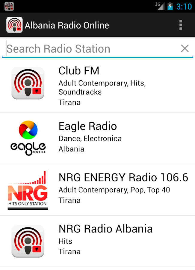 Albania Radio Online - screenshot