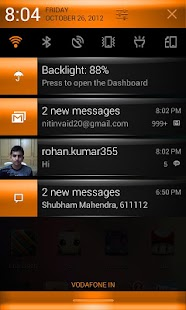 CM10 Orange Revolution Theme - screenshot thumbnail