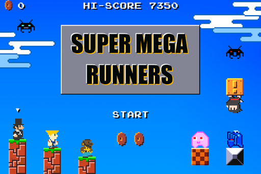 Super Mega Runners:Stage maker Create your game  screenshots 1