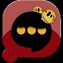 Pansi SMS Halloween theme logo