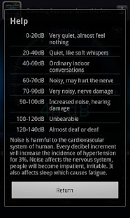 App Decibel meter[Sound,Noise] APK for Windows Phone