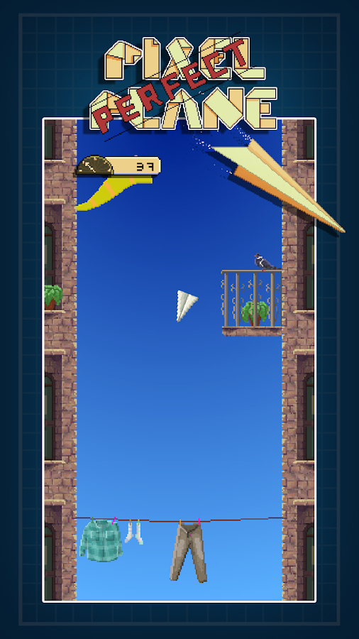 Pixel Perfect Plane- screenshot