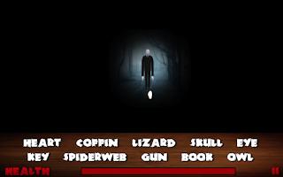 Screenshot of Slender Man