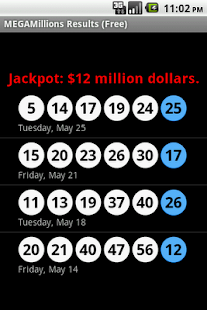 MEGAMillions Results (Free) - screenshot thumbnail
