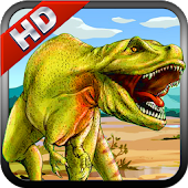T Rex  Dino Run Escape HD free