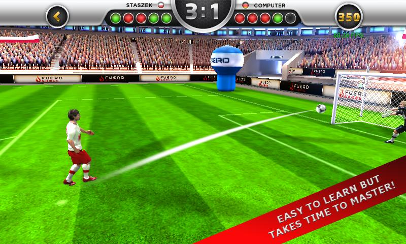 EuroGoal 2012 - screenshot