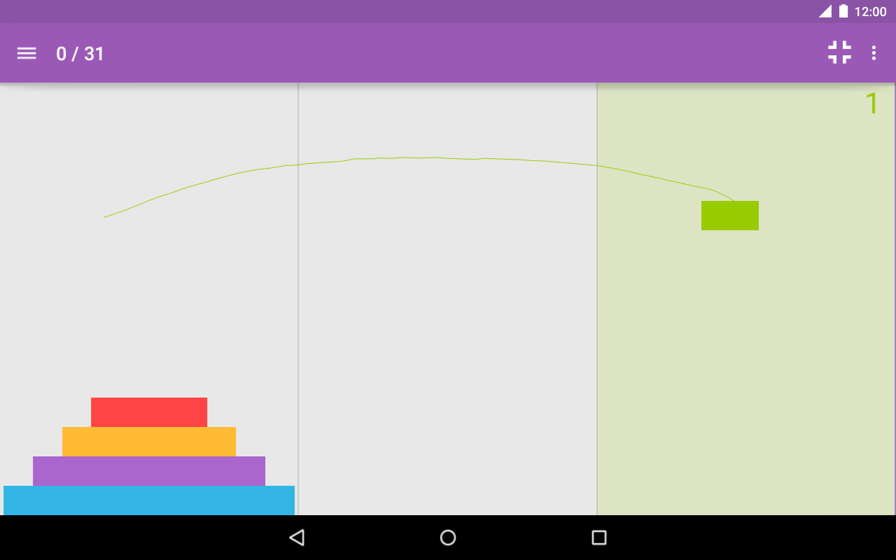 Tower of Hanoi Pro- screenshot