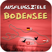 Bodensee Ausflugsziele  D-A-CH