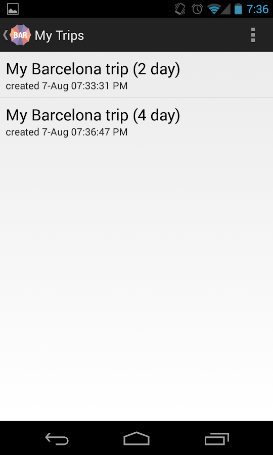 Holidayen Barcelona- screenshot