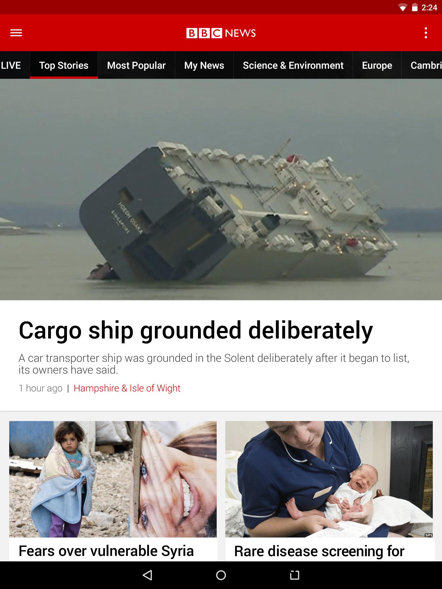 BBC News screenshot #7