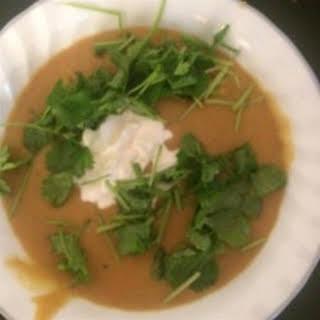 Lentil Soup with Lemon.