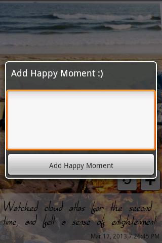 Happy Moments LITE- screenshot