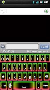 Neon Glow v2 Keyboard Skin- screenshot thumbnail
