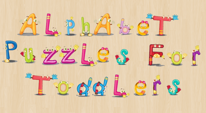 Alphabet Puzzles for Toddlers!- screenshot